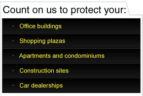 Count on us to protect your: